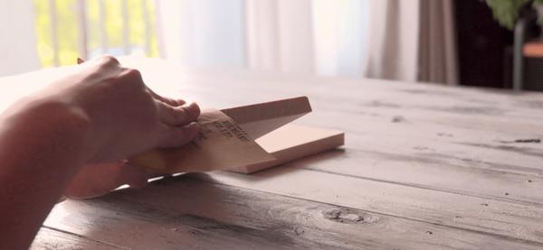 木材でヴィンテージ風コーヒースタンドDIY3