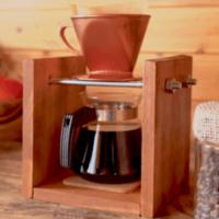 木材でヴィンテージ風コーヒースタンドDIY