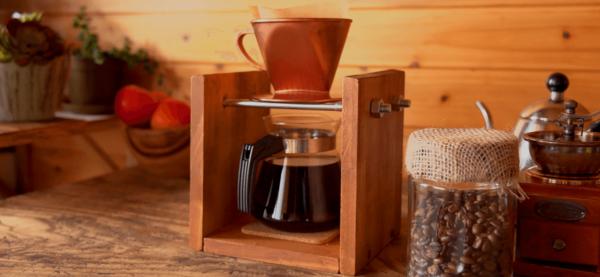 木材でヴィンテージ風コーヒースタンドDIY10