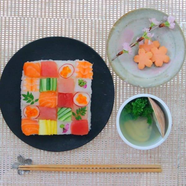 父の日 モザイク寿司