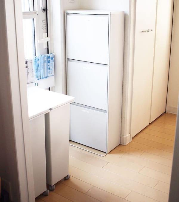 突っ張り棒 キッチン収納2