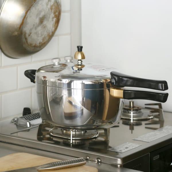 ロングセラーのピース圧力鍋