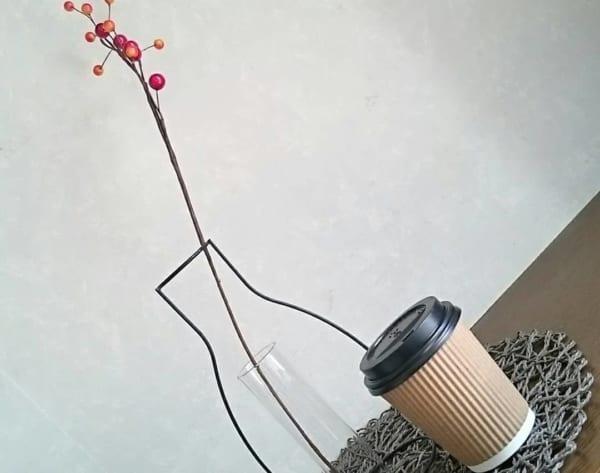 お家がカフェになる?!フタ付き断熱カップ
