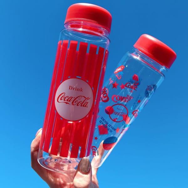 コカ・コーラのドリンクボトル(3COINS)