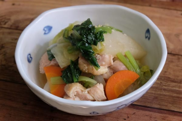 大根と鶏肉の塩麹煮