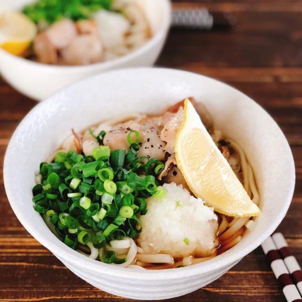 麺レシピ①うどん4