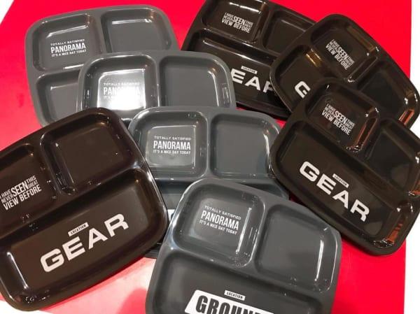セリア グラウンドギアシリーズ スクエアランチ皿