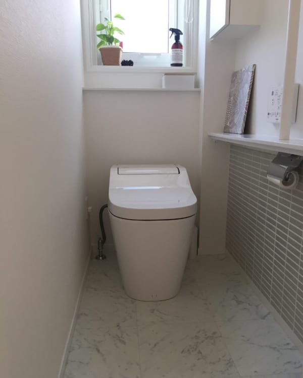 トイレ 物を置かない2