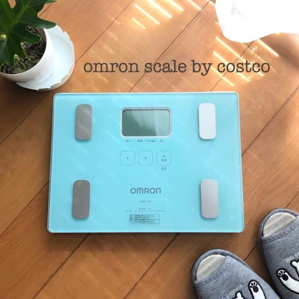 コストコ オムロンの体重計