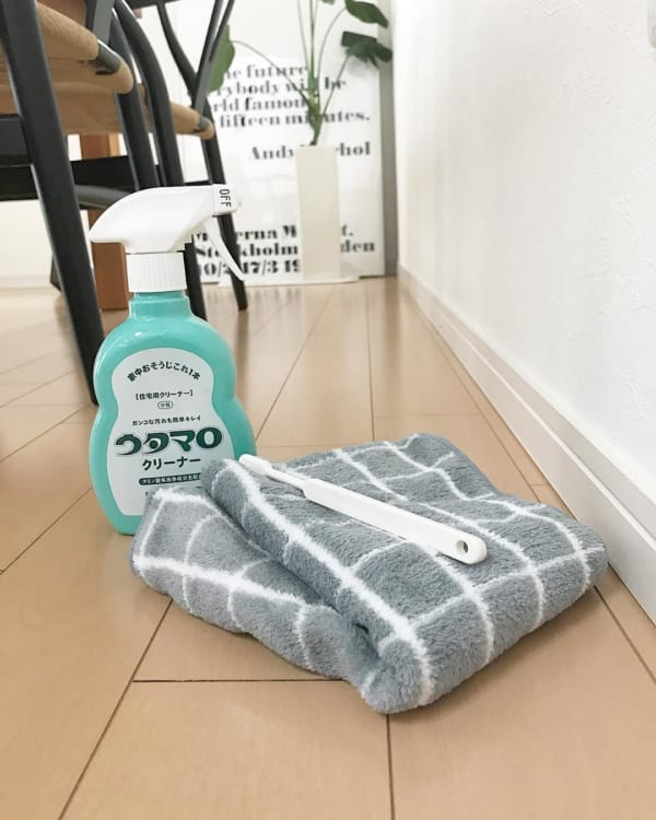 ウタマロクリーナー 掃除 巾木