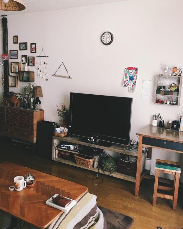 古家具を取り入れたナチュラルインテリア2