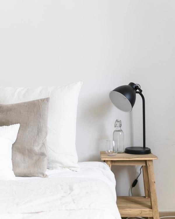海外ホワイトインテリア実例:ベッドルーム