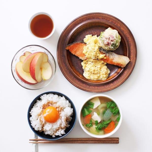 簡単に作れるタルタルソースの焼き鮭