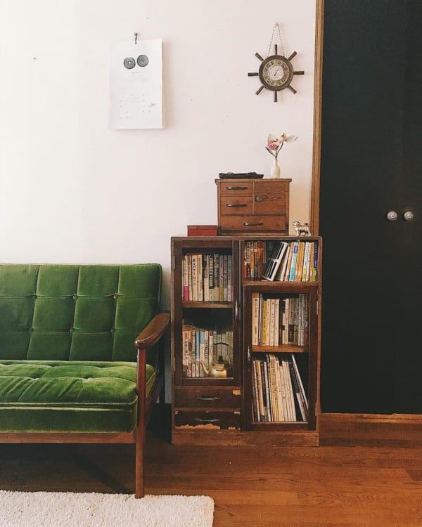 古家具を取り入れたナチュラルインテリア3