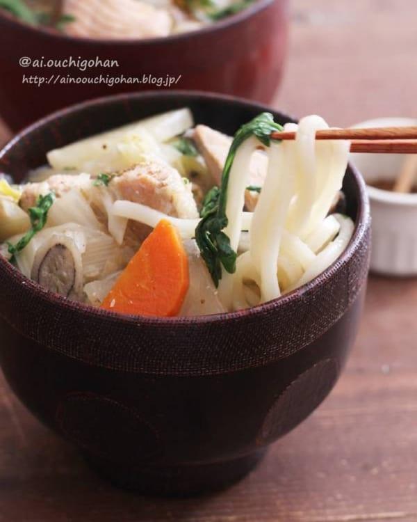 麺レシピ①うどん7