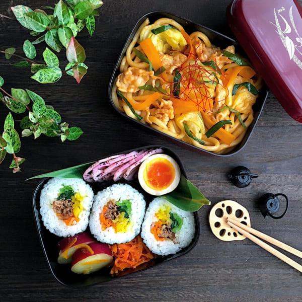キムチが辛い韓国風のお弁当