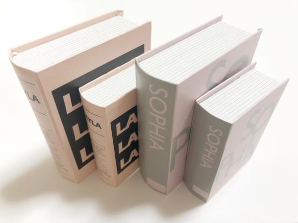 キャン★ドゥのブック型ボックス