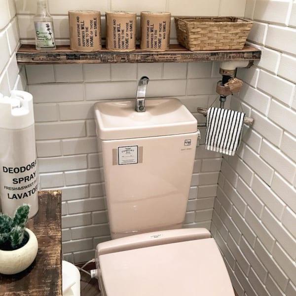 トイレ 見せる収納2