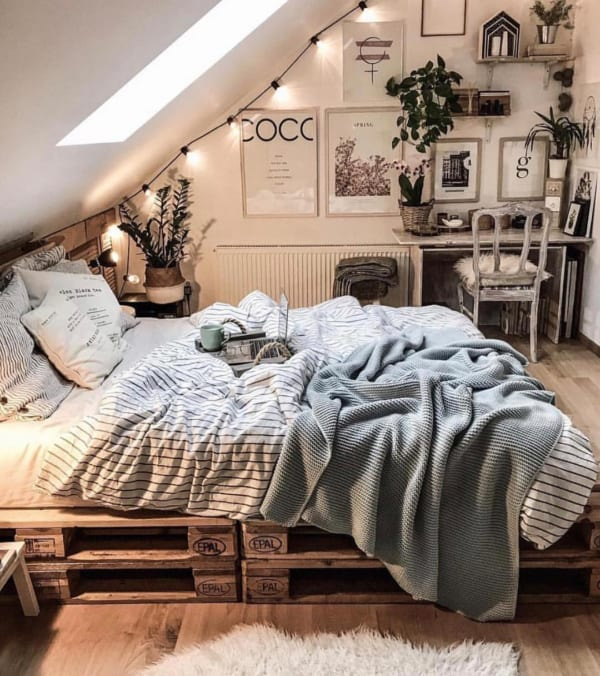 ナチュラルインテリア:④ベッドルーム