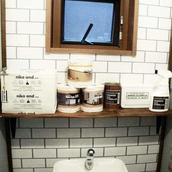 トイレ 見せる収納3