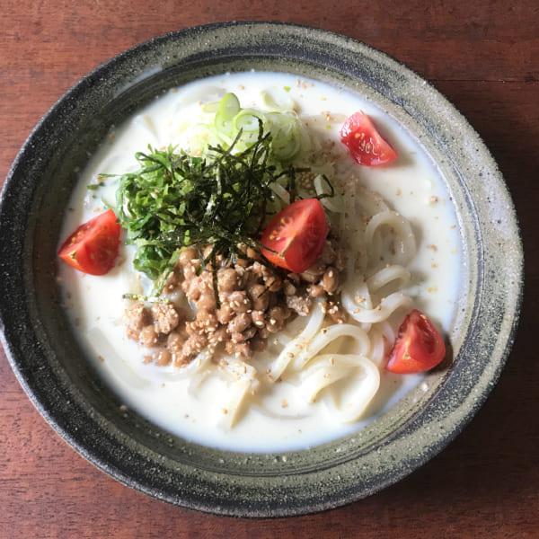 麺レシピ①うどん9
