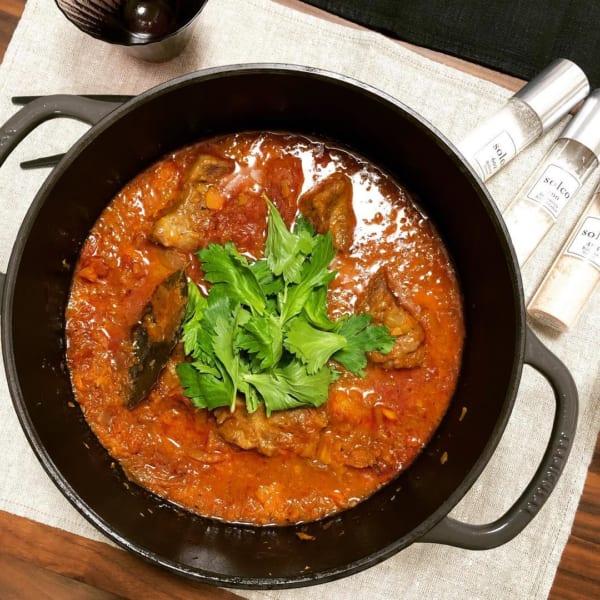 トマトソース煮込み