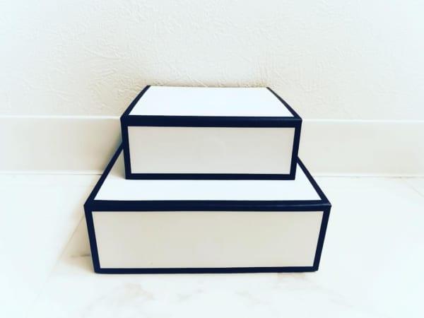 キャンドゥ モノトーンペーパーボックス