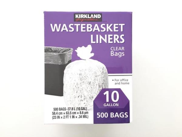 コストコ クリア素材のゴミ袋