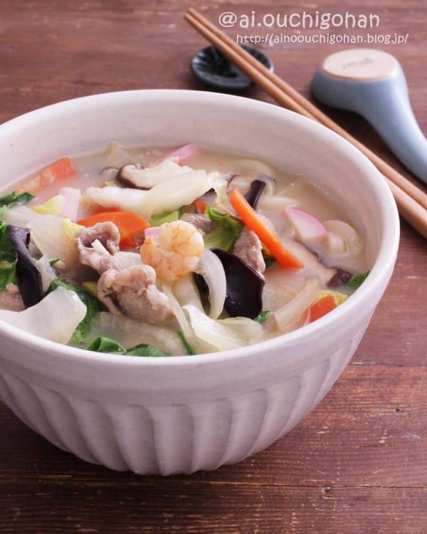 麺レシピ①うどん11