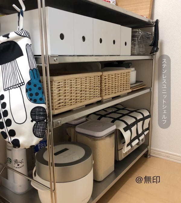 一人暮らし 狭いキッチン 収納術5