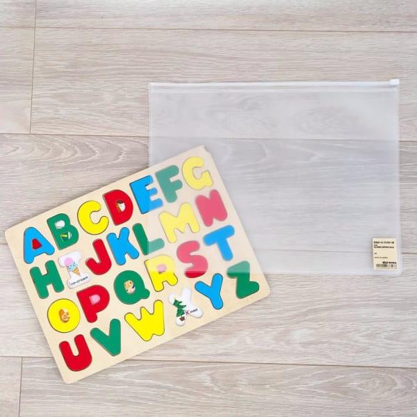 子供のパズル収納