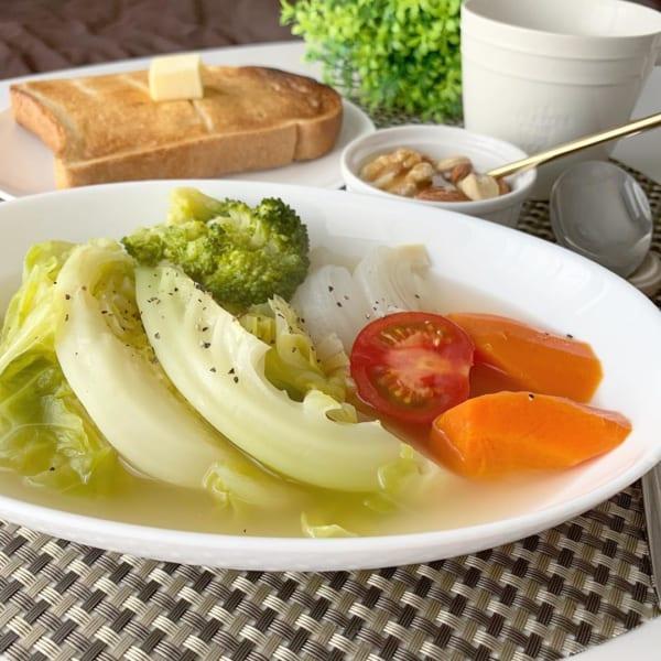 体に優しい定番料理!野菜たっぷりポトフ