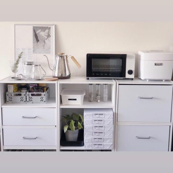 一人暮らし 狭いキッチン 収納術6
