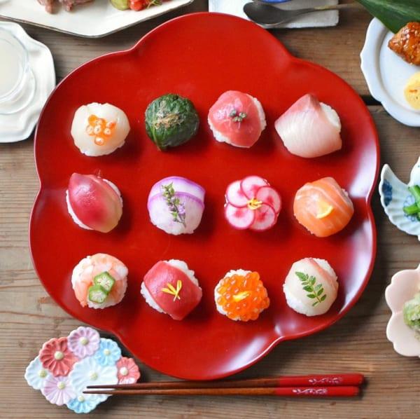 ずら~り!かわいい手まり寿司