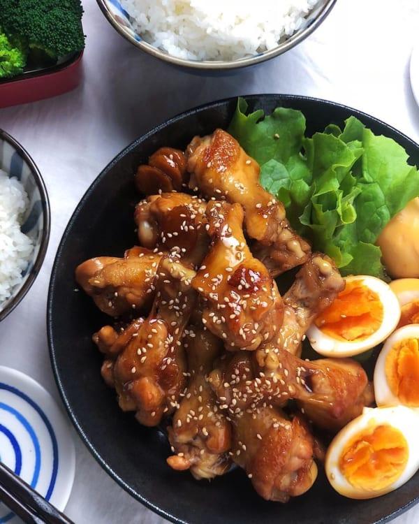 手羽元の甘辛生姜煮