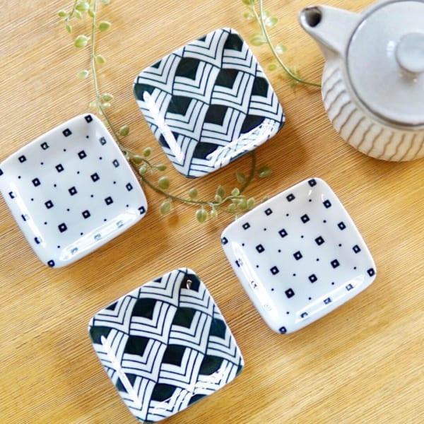 日本の伝統柄が可愛い豆皿(ニトリ)