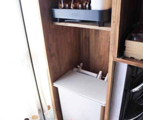 突っ張り棒 キッチン収納3
