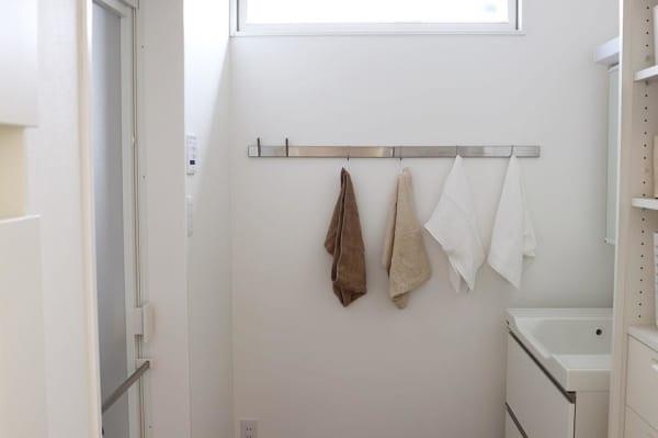 ⑤タオル収納アイデア