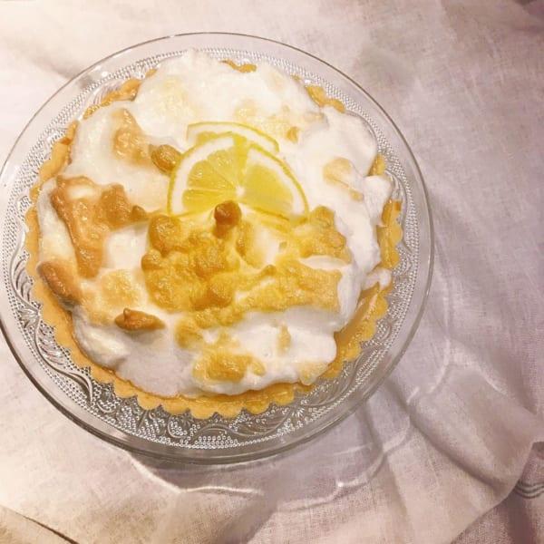 レモンクリームタルト