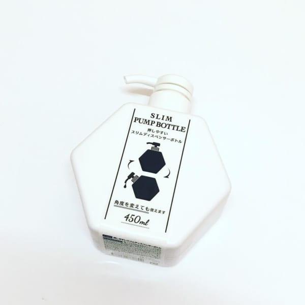 六角形の技あり詰め替えボトル(セリア)