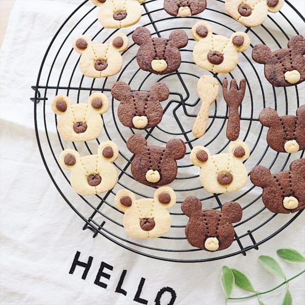 くまのがっこう クッキー