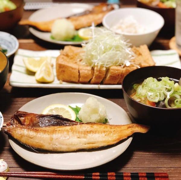 ホッケの焼き魚定食2