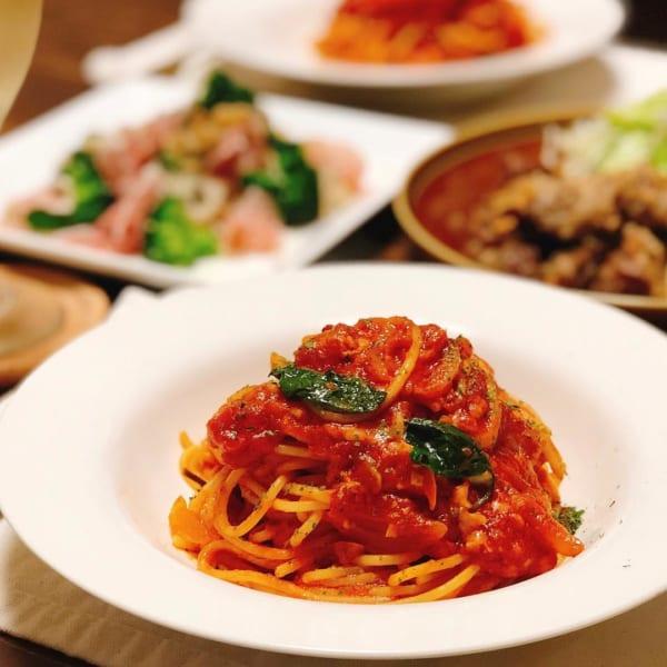 麺レシピ②パスタ