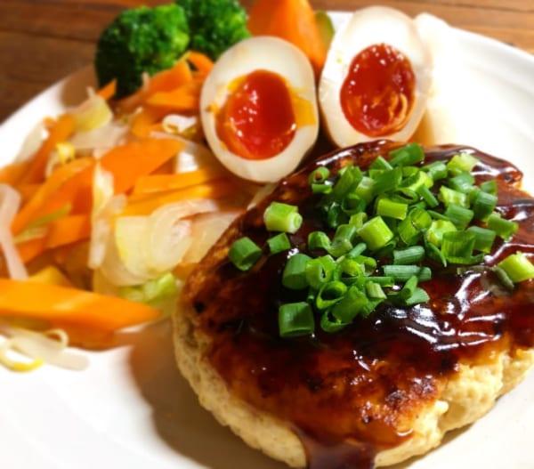 鶏肉&豆腐&おからのハンバーグ