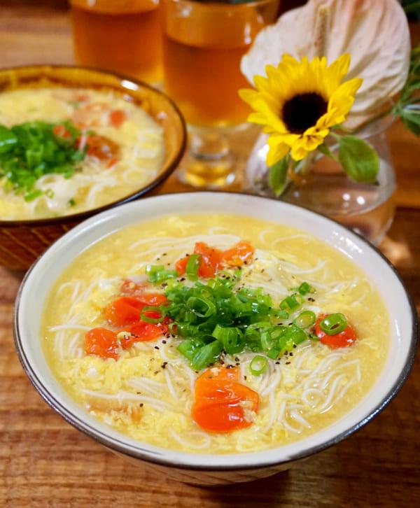 サッとすすりたい「汁物」レシピ≪麺類編≫6