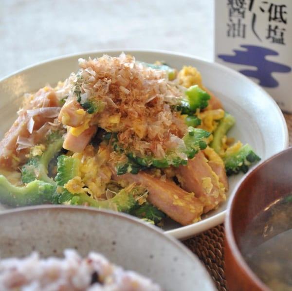 沖縄の味!ゴーヤチャンプル
