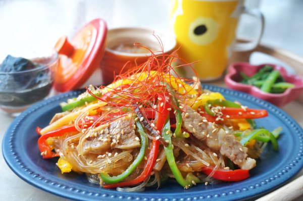 朝鮮料理のチャプチェ