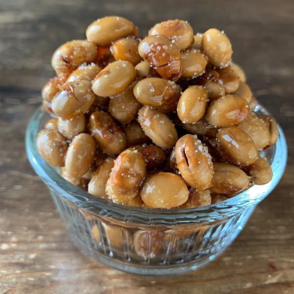 ハニーキャラメル大豆