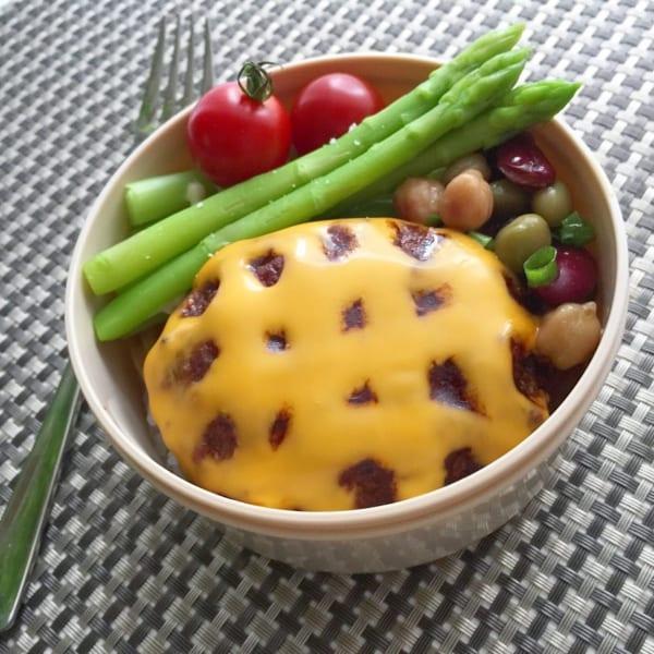 父の日 チーズハンバーグ