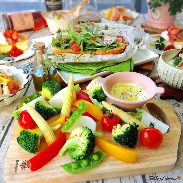 オシャレに野菜を食べる!バーニャカウダ